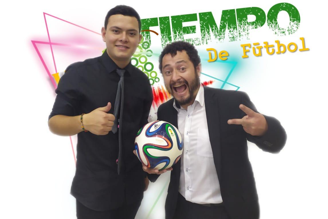 Nicolás Arango y Vladimir Ruiz